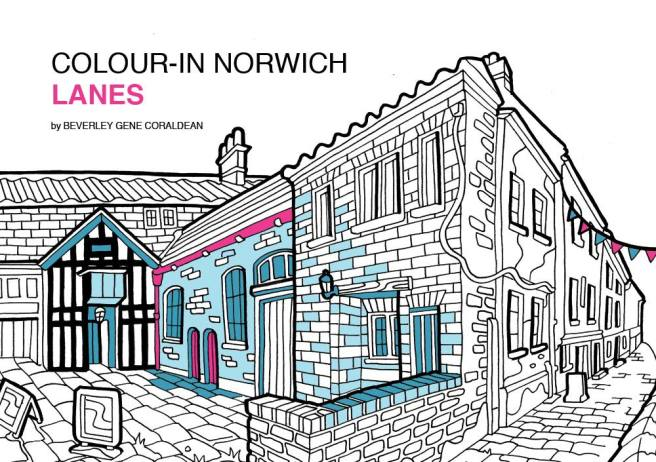 Colour In Norwich Lanes2