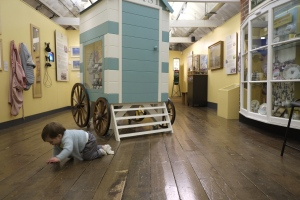 Crawling in the Seaside Room